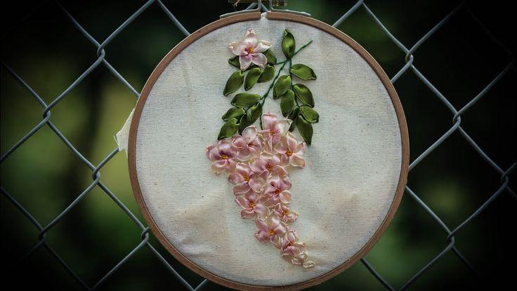 D.I.Y Ribbon Embroidery Fuji Hana / HÆ°á»›ng…