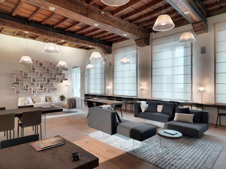 Casa Lago: contemporary showcase open space apartment situated in Milan Italy - CAANdesign