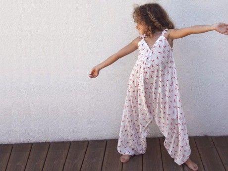Patron de couture - Salopette Sarouel pour fillette