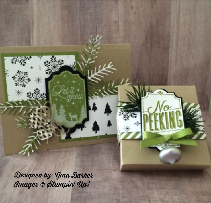 Stampin' Up! 2017 Holiday Catalog - Merry Little Labels.