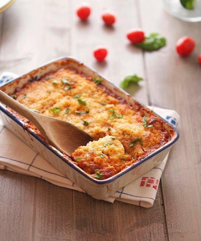 Roasted Eggplant and Tomato Gratin (Low Carb & Gluten-Free)