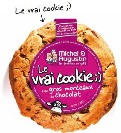 Le vrai cookie selon Michel & Augustin - Recette - Marcia 'Tack