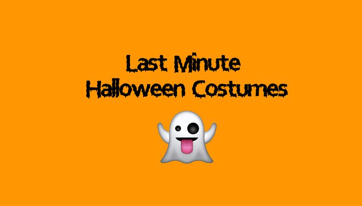 ♡ Last Minute Halloween Costume Ideas ♡