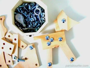 Nuts and bolts building toy - How cool is this?