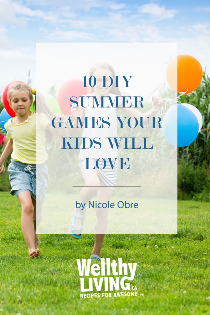 These backyard games are all low budget, easy to set-up, and fun enough that I don't mind getting off my lounge chair to play them. Here are 10 DIY backyard summer games your kids (and you!) will love. Click to read more, or pin and save for later!