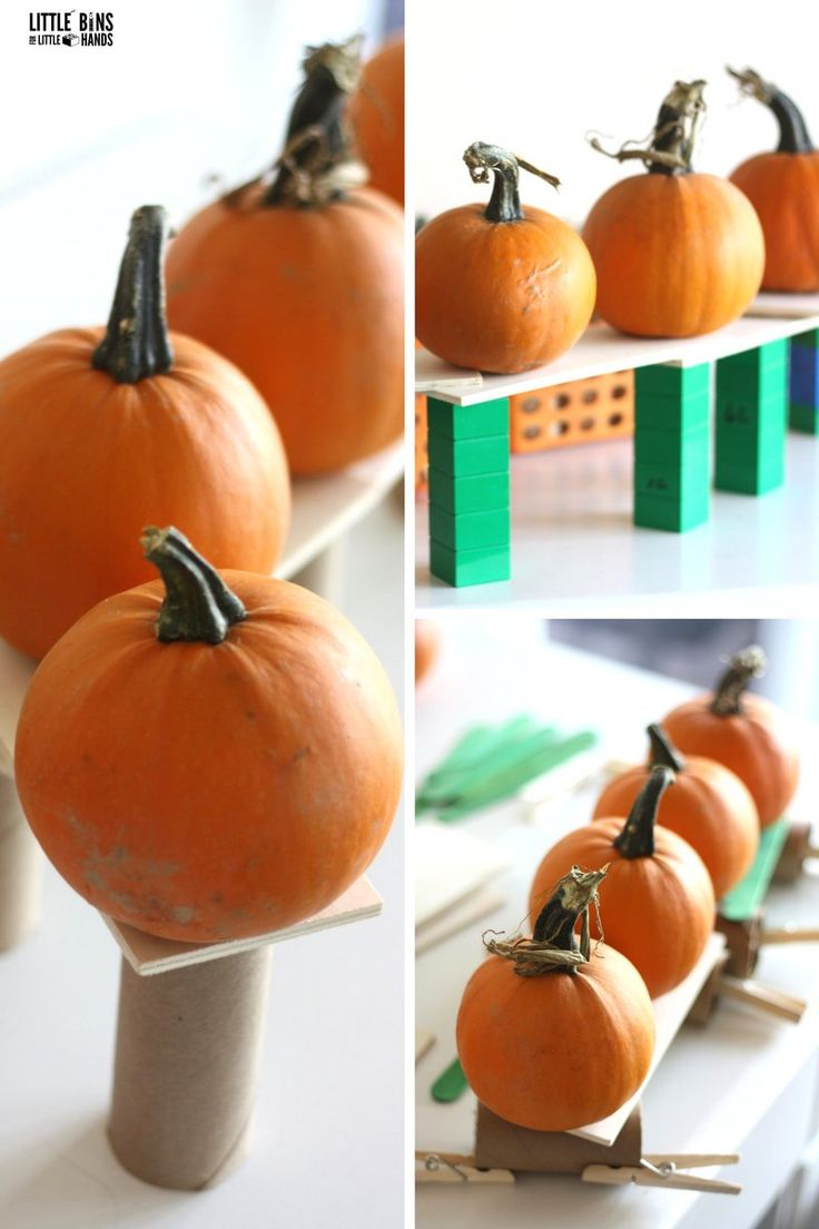 Pumpkin STEM Challenge Ideas