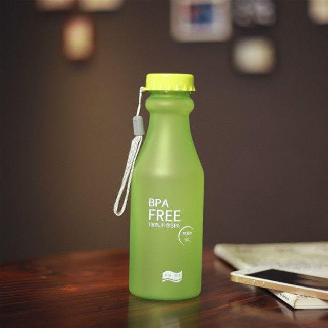 TRANSHOME 550ml My Korean Water Bottle BPA Free