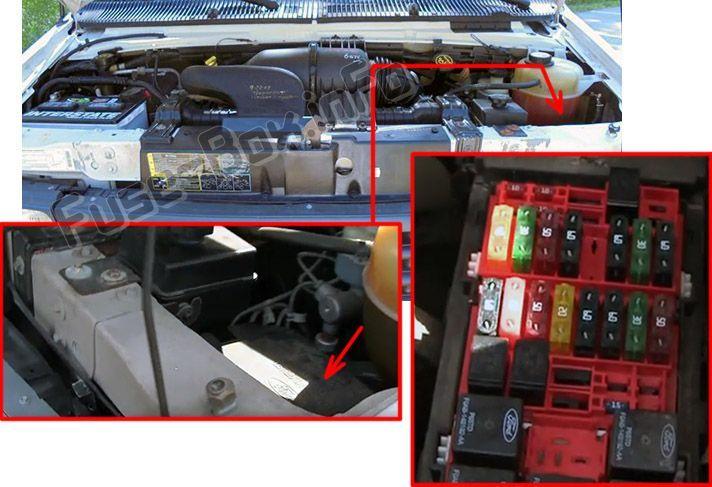 2002 ford econoline fuse box ford e series  2002 2008    fuse box location fuse box  ford e  ford e series  2002 2008    fuse box