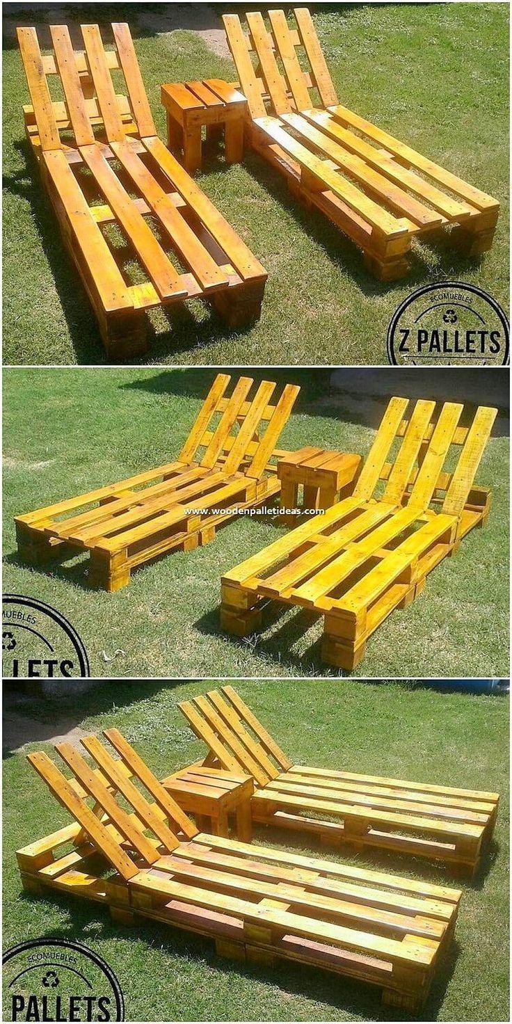 Recycling Art: 25 Projekte zur Wiederverwendung von Holzpaletten #Holzpalette ….. #WoodWorking