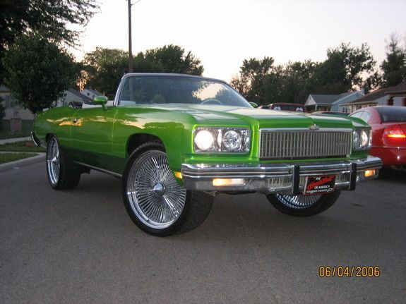 Big Ballers Candy Paint Cars It S Easy Ladies Like Big Rims And