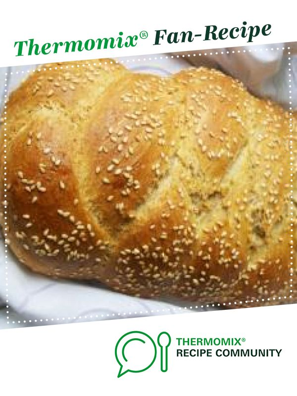 Wholemeal Spelt Challah by Quirky Cooking. A Thermomix <sup>®</sup> recipe in the category Breads & rolls on www.recipecommunity.com.au, the Thermomix <sup>®</sup> Community.
