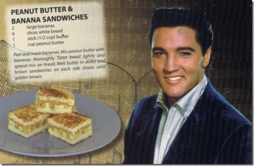 Peanut Butter & Banana Sandwiches - featuring Elvis Presley!: Peanut Butter Bananas, Happy Birthday, Healthy Snacks, Elvispresley, Sandwiches Recipes, Fries Bananas, Elvis Presley, Bananas Sandwiches, Grilled Sandwiches