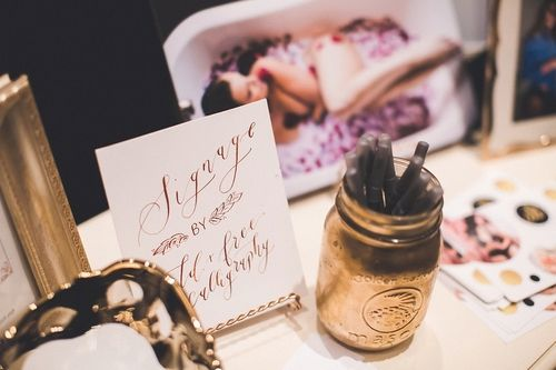 3 TIPS ON HOW TO PUT TOGETHER A STELLAR WEDDING SHOW BOOTH — Alicia Lucia Photography: Albuquerque Wedding and Portrait Photographer Wedding show booth inspiration // wedding show booth for photographers // bridal show booth // garland // laser cut logo // weathered wood backdrop