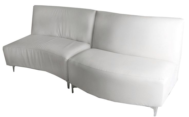 wave in and out 2 seater combination white