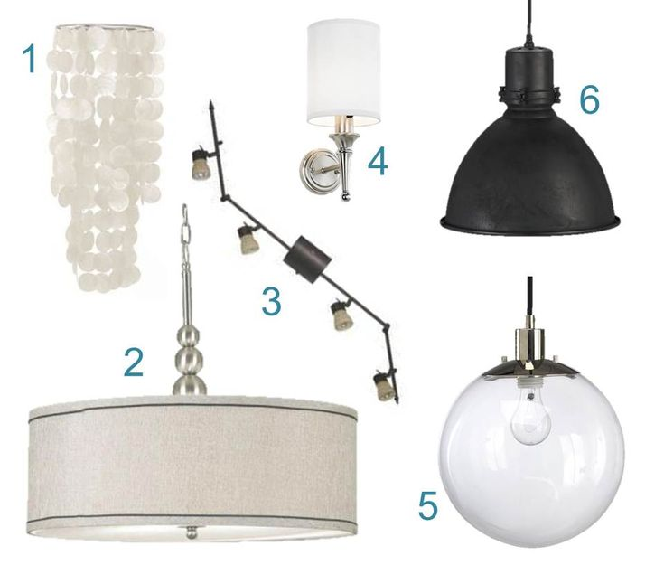 Modern light fixtures for kitchens