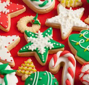 Galletas de azúcar, qué delicia. Además se pueden decorar para cualquier fiesta: san valentín, cumpleaños, Navidad...