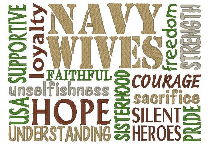 Navy Wives Subway Art