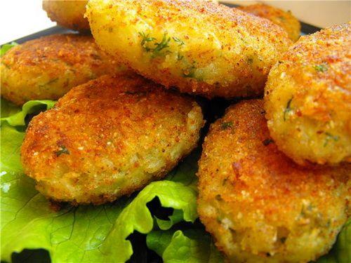Капустные котлеты - лучшие рецепты. Как правильно и вкусно приготовить капустные котлеты.