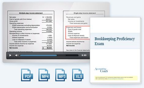 AccountingCoach | Test Yourself: Exams