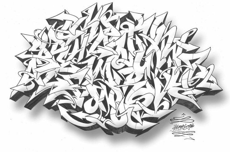 bubble graffiti Graffiti Sketches Designed By 2340 › 3d