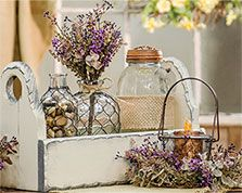 Spring Decor from KP Creek Gifts: http://www.kpcreek.com/p-9645-ivory-flower-box.aspx. See more country products such as these in Country Sampler's May 2016 issue: https://www.samplermagazines.com/detail.html?prod_id=196&cat_id=8&source=PIN-FP0516.