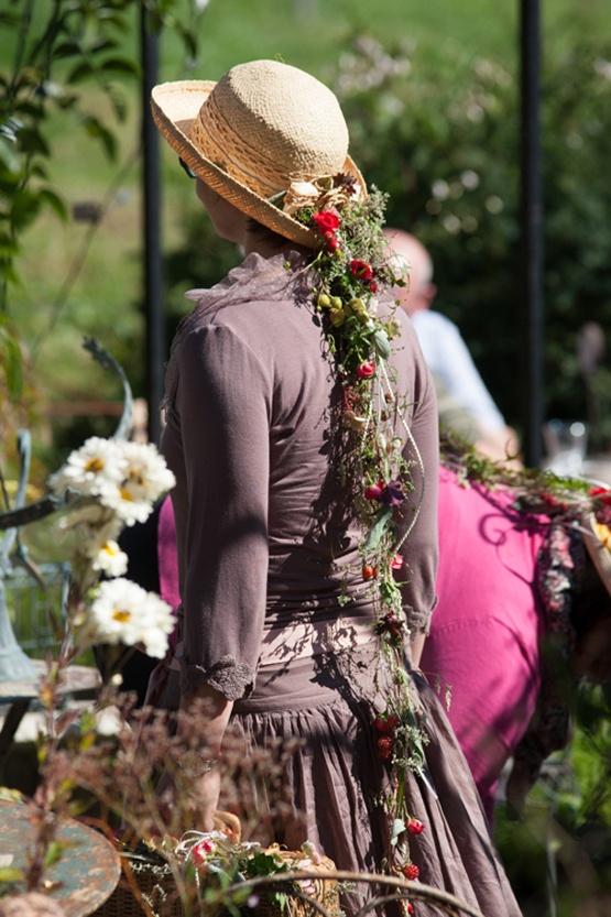 Floristik am Hut. Wunderschön!