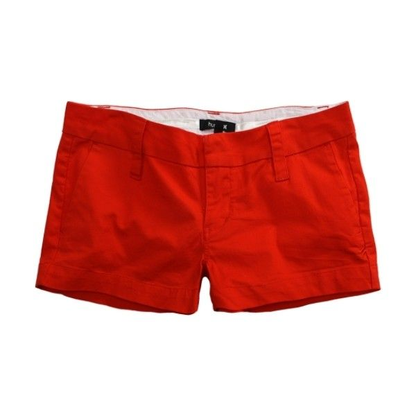 Womens Red Shorts - The Else