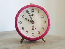 Jaz alarm clock - fuchsia pink