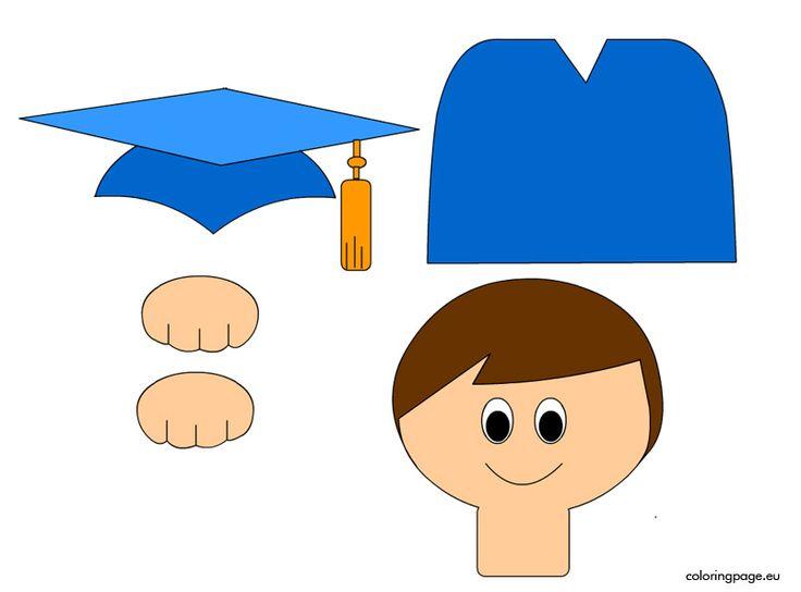 Preschool graduation craft 2 | Coloring Page