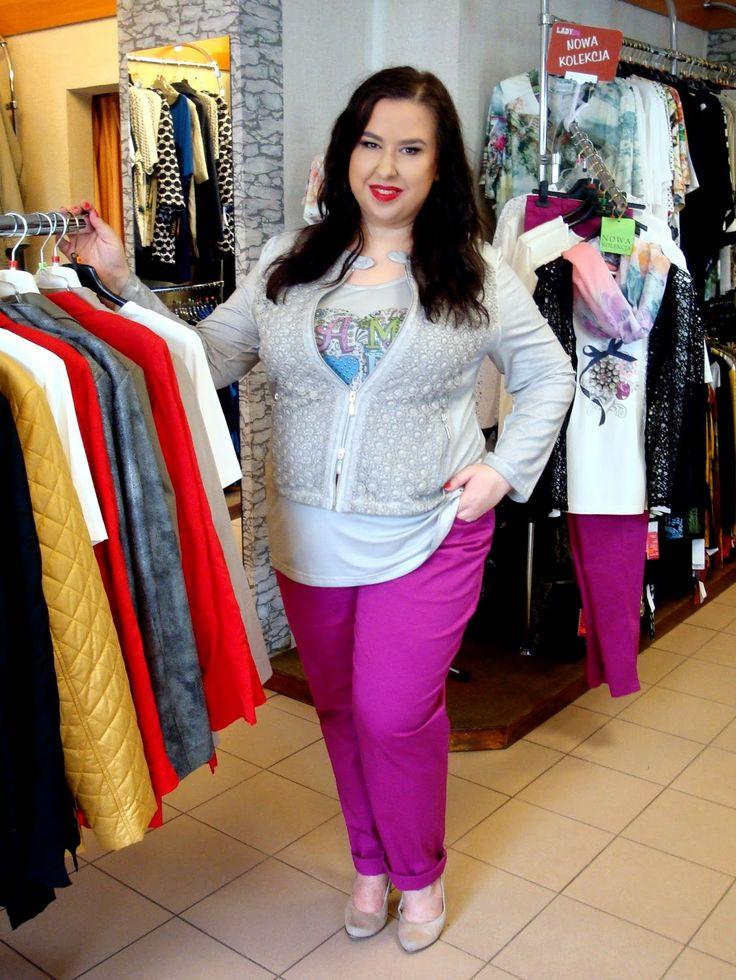 Plus Size Fashion and Style: Z wizytą w butiku Lady Plus w Rzeszowie :) - http://agnieszkakownacka.blogspot.com/2015/05/z-wizyta-w-butiku-lady-plus-w-rzeszowie.html