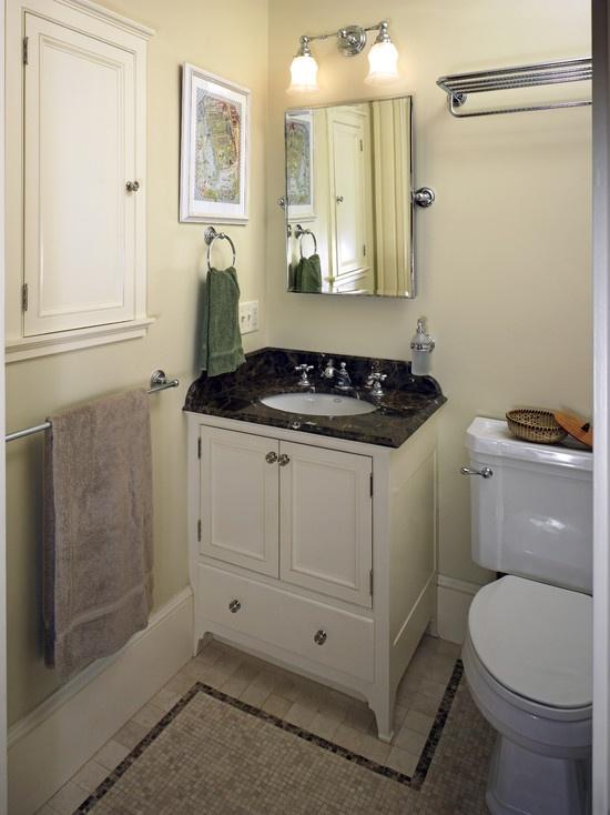 Best Bathroom Ideas Images On Pinterest Bathroom Ideas - Corner vanities for small bathrooms for bathroom decor ideas