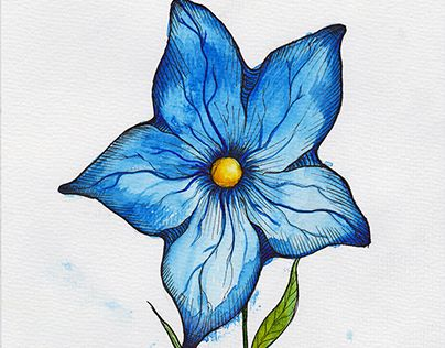 """Check out new work on my @Behance portfolio: """"Exotic Flower"""" http://be.net/gallery/31153697/Exotic-Flower"""