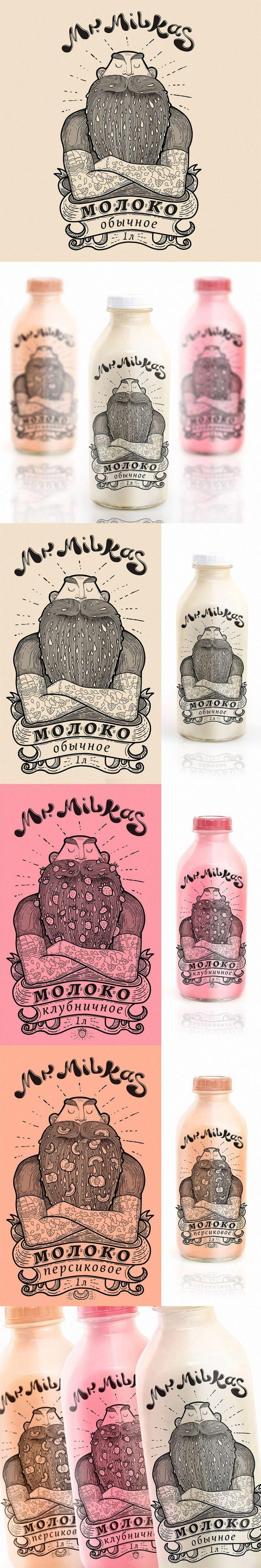 Mr. Milkas Milk Package