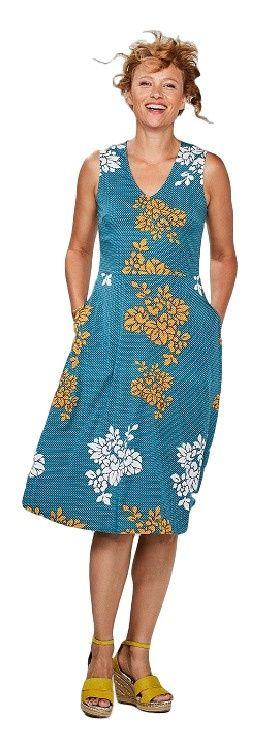 Jurk Kimono turquoise Zilch Jurken, Coole outfits, Mode