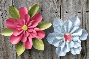 Lovely Little Paper Flowers | AllFreePaperCrafts.com