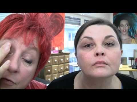 Augenschatten bei Sandra - YouTube
