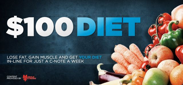 Bodybuilding.com - The $100 Diet: Healthy Grocery List For Amazing Results!