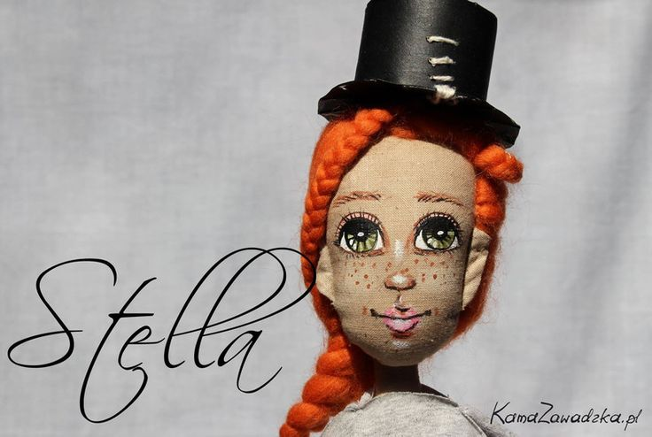 Lalka szmacianka Stella - KamaZawadzka - Lalki