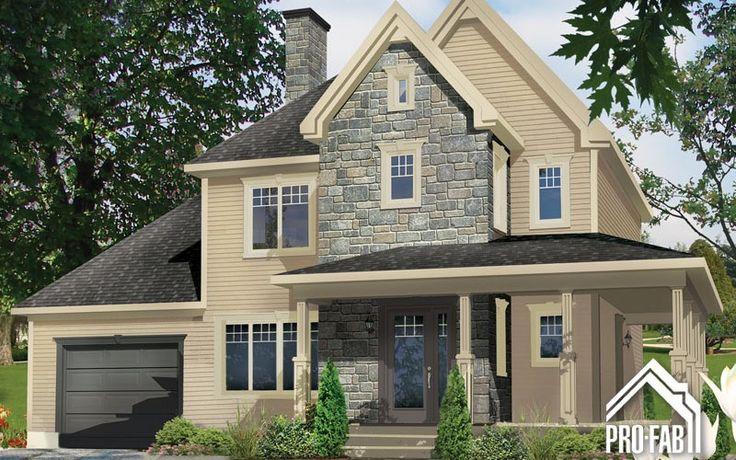 17 meilleures images propos de maison sur pinterest maison pr fabriqu e - Modele maison champetre ...