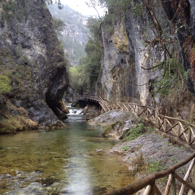 El río Borosa, Sierra de Cazorla, Jaén, (Spain), Parque Natural