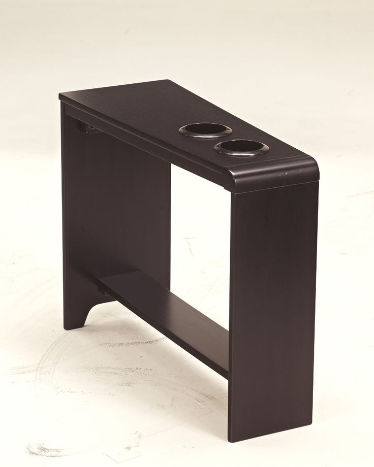 Cup Holder Chairside End Table The Carlyle Occasional