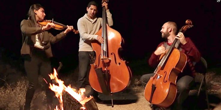 "It's not unexpected that we get a multitude of submissions sent in to us here at The Huffington Post. What is unexpected, however, is this submission above performed by Simply Three that is simultaneously so modern and classical in its rendition of the iconic tune ""The Christmas Song"" and that is sure to fill you full of holiday cheer."