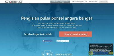 Cara Menggunakan Voucher Pulsa CY.Send Dari Valued Opinions Indonesia #OnlineSurvey