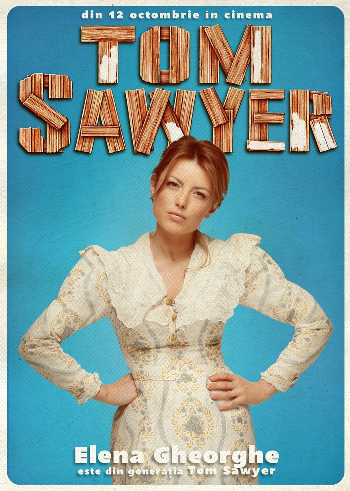 Elena Gheorghe promovează Generați Tom Sawyer Romania