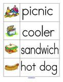 Picnic Theme Activities for Preschool, PreK and Kindergarten