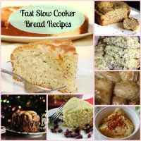 Fast Bread in a Slow Cooker: 16 Slow Cooker Bread Recipes + Bonus Recipes | AllFreeSlowCookerRecipes.com