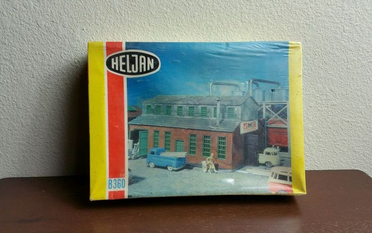 HELJAN HO SCALE B360 BUILDING IN ORIGINAL BOX. #Heljan