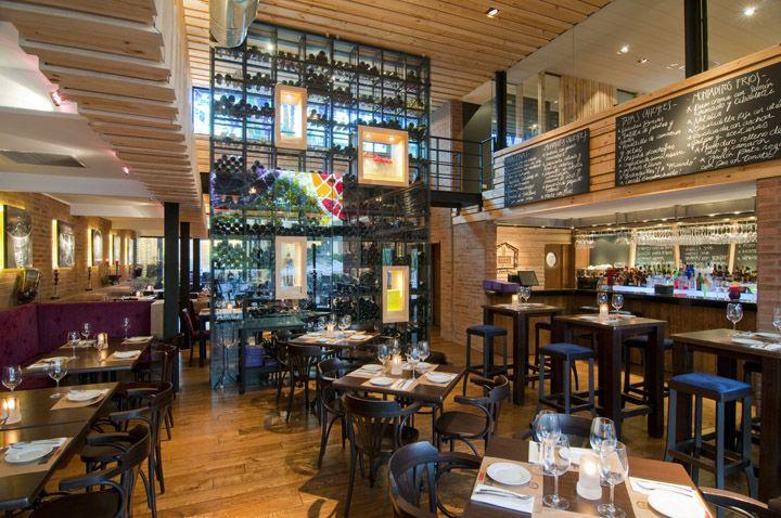 La Boquería de Barcelona restaurant by Droguett A, Santiago   Chile hotels and restaurants