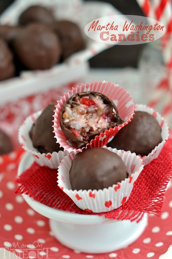 These Martha Washington candies have a delectable mix of coconut, pecans, and maraschino cherries hidden inside. A perfect and festive treat for the holidays and Christmas.
