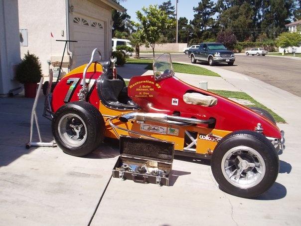 Not 4 body car cyl midget race throttle shaking